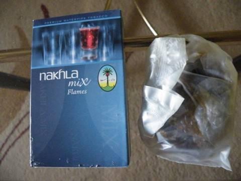 Nakhla mix flames vízipipa dohány