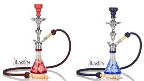 Piros és Kék Aladin Tree vízipipa